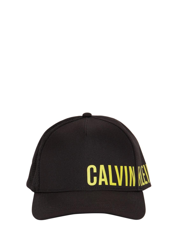 df70df48143 CALVIN KLEIN UNDERWEAR LOGO FABRIC   MESH TRUCKER HAT.  calvinkleinunderwear