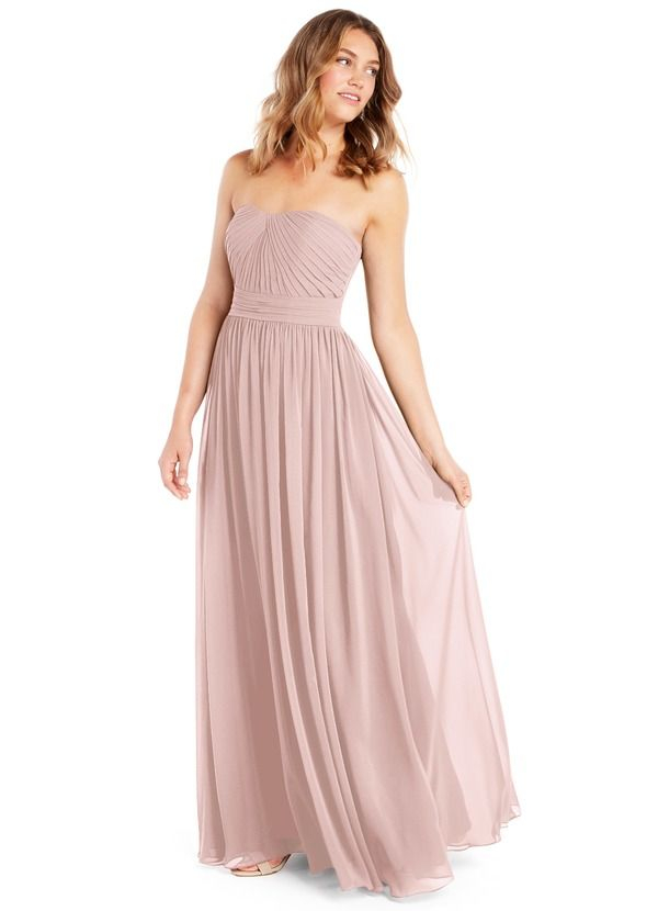 87ce3cfd752 Shop Azazie Bridesmaid Dress - Milagros in Chiffon. Find the perfect  made-to-order bridesmaid dresses for your bridal party in your favorite  color