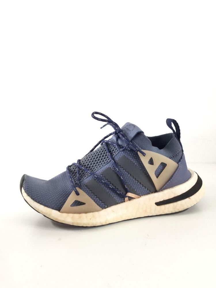 separation shoes 1f81f 4e0e2 1436 adidas Arkyn Raw SteelAsh GreyPearl Knit Lace Up Sneakers Women Sz 6  M fashion clothing shoes accessories womensshoes athleticshoes (ebay  link)