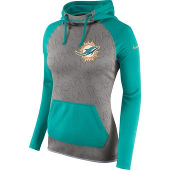 aa06798b Nike Miami Dolphins Women's Gray Gold Collection All Time ...
