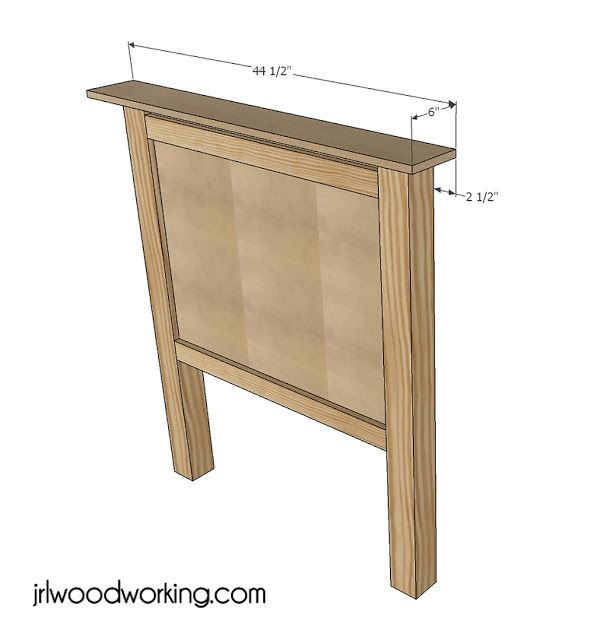 Twin Bed Beadboard Headboard Projects Diy Bed Frame Furniture Plans Easy Diy Projects