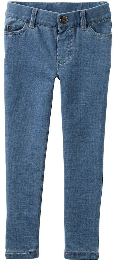 5cbc90f64d082 Carter's Baby Girl French Terry Jeggings | Products | Denim pants ...