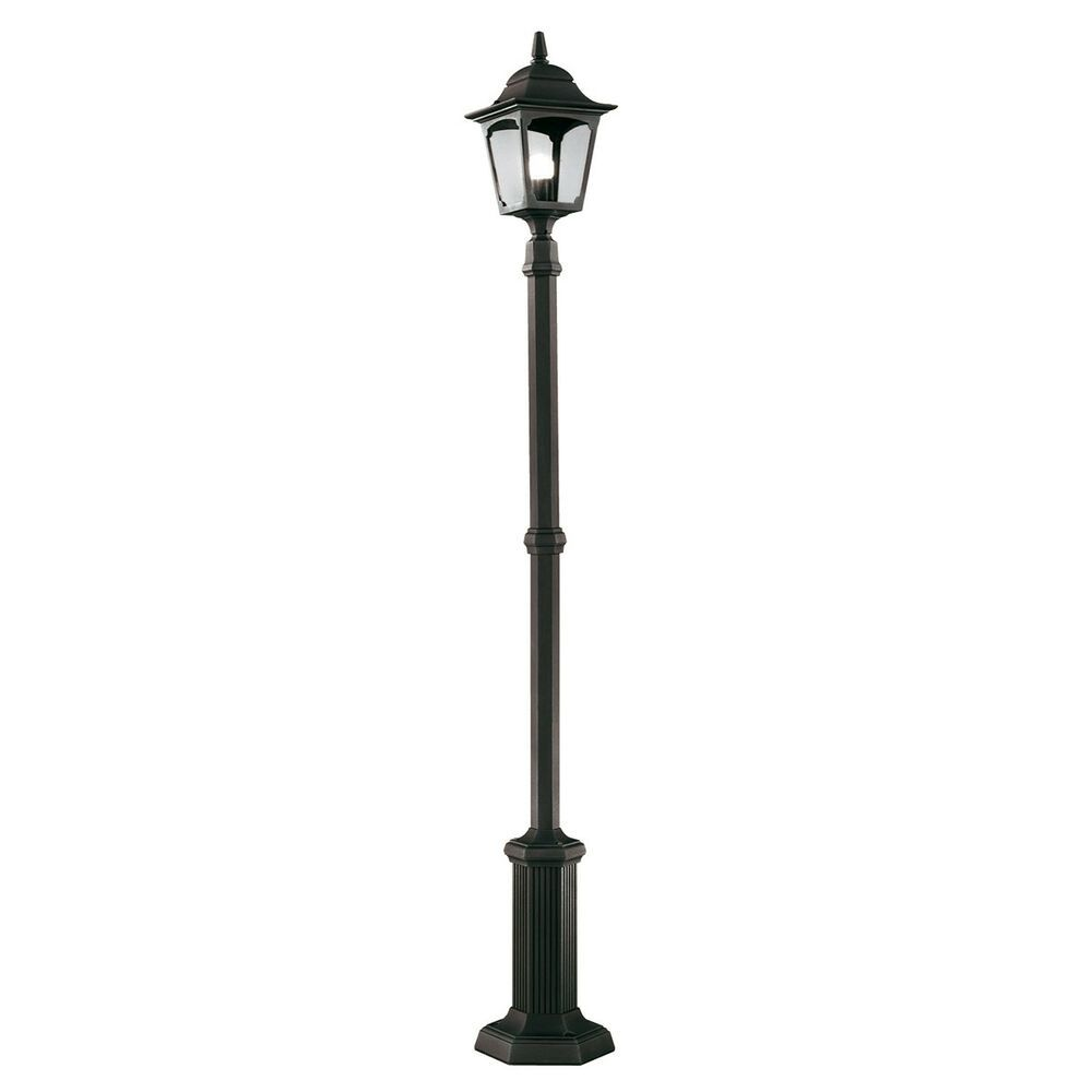 Elstead Chapelle Lampe Post Noir 1 X 100w E27 220 240v 50hz Ip44 Classe I Outdoor Lamp Posts Lamp Post Outdoor Lamp
