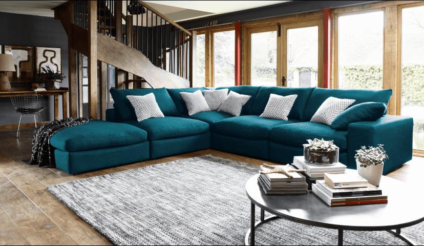 Haymarket Extra Deep Large Corner Sofa Deep Sofa Corner Sofa Living Room Teal Living Room Decor