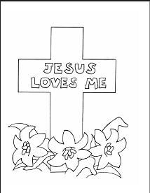 Easter Coloring Pages Church Nursery Activities For Toddlers