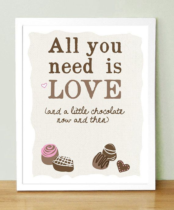 All You Need Is Love and Chocolate     by UUPP