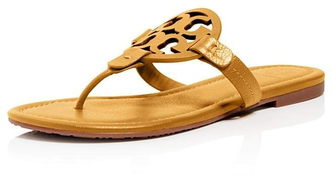 612ebf541 Women s Miller Leather Thong Sandals  thong sandals Burch Tory Burch