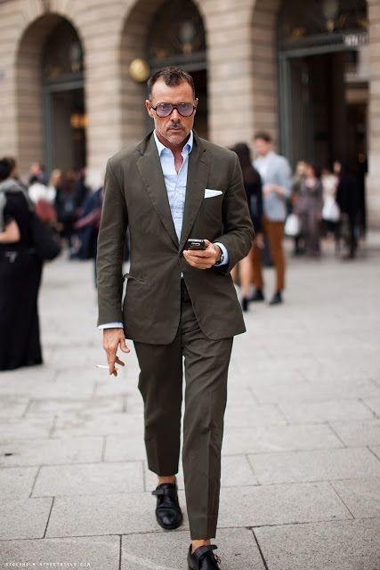 Image result for green cotton suit | Men Style | Pinterest | Suits ...