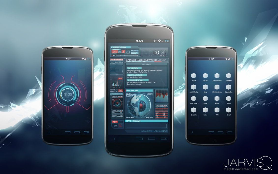Ironman JARVISQ Theme, Android, Iron Man, Jarvis | Fandom