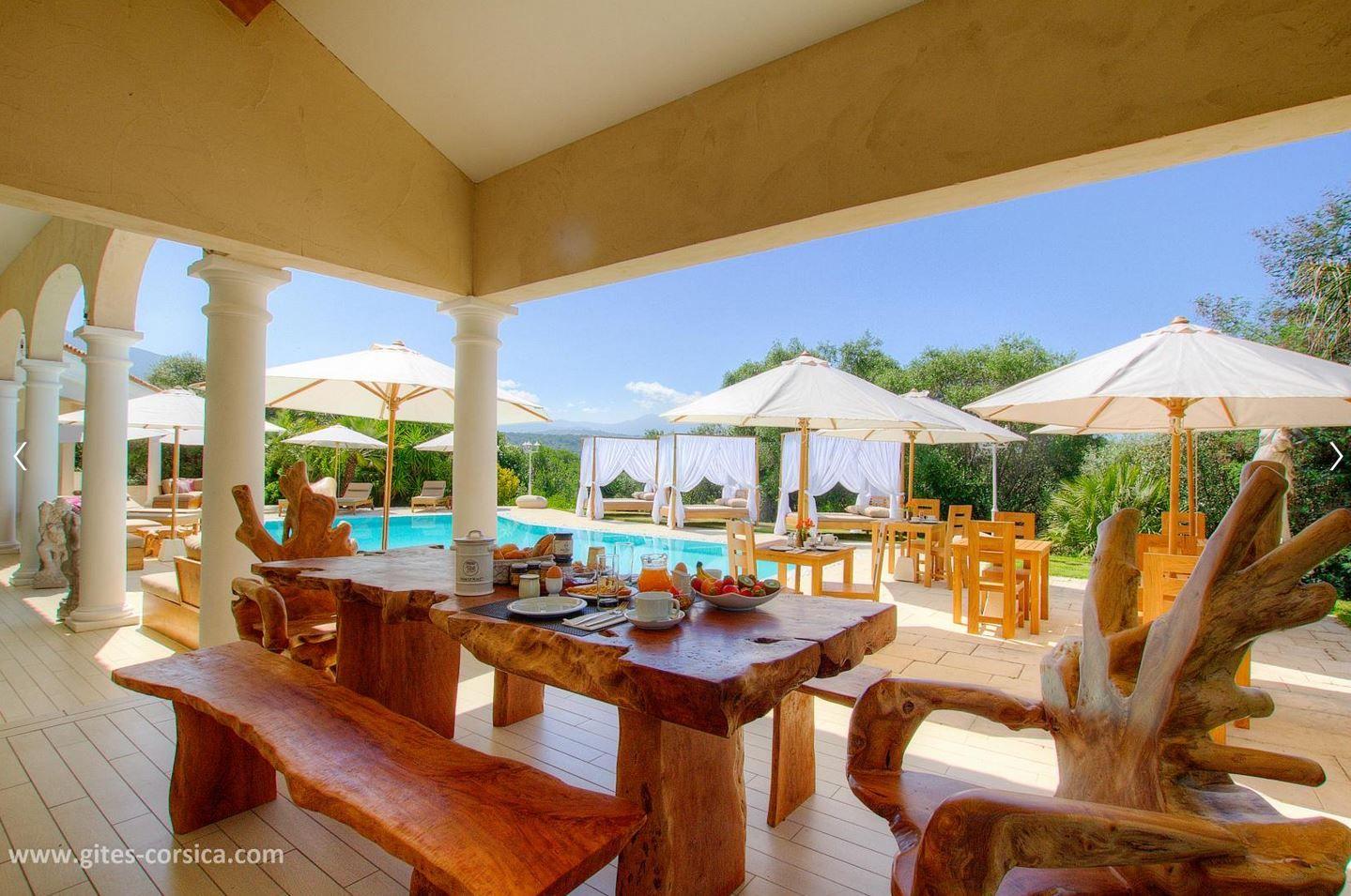 Chambre D Hotes Villa Torrella A Sarrola Carcopino Location De Vacances En Corse Le Grand Ajaccio Site Officiel Gites De France Corse Gite De France Locations Vacances Gite