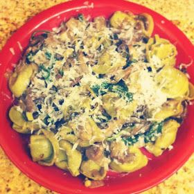 The Hunter's Wife: Balsamic Cheese Tortellini