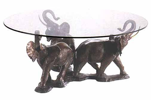 Elephant Table Tb0121 Bronze 3 Elephant Coffee Table Bronze Sculpture Elephant Home Decor Elephant Decor Elephant