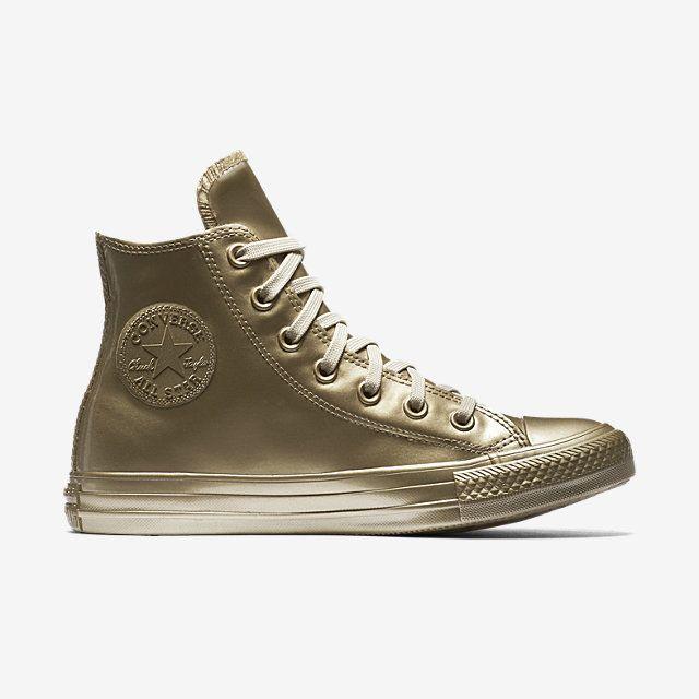 Converse Chuck Taylor All Star Metallic Rubber High Top Women s Shoe.  Nike.com 6bed552409