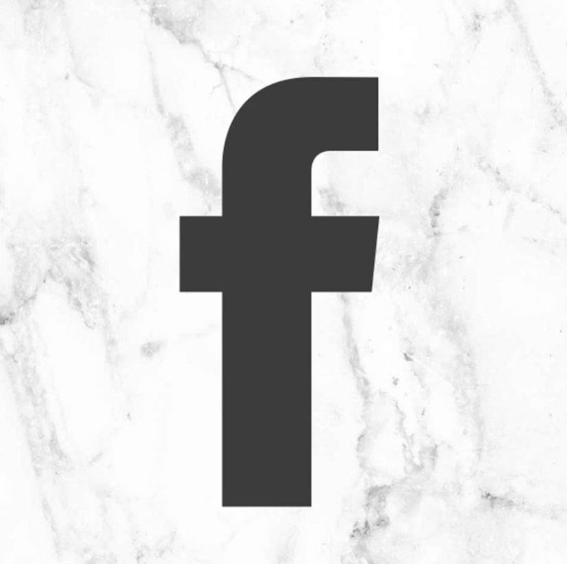 Marble Facebook App Icon In 2021 Iphone Organization App Covers App Icon