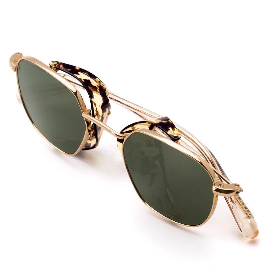 Krewe eyewear on instagram side shields were originally