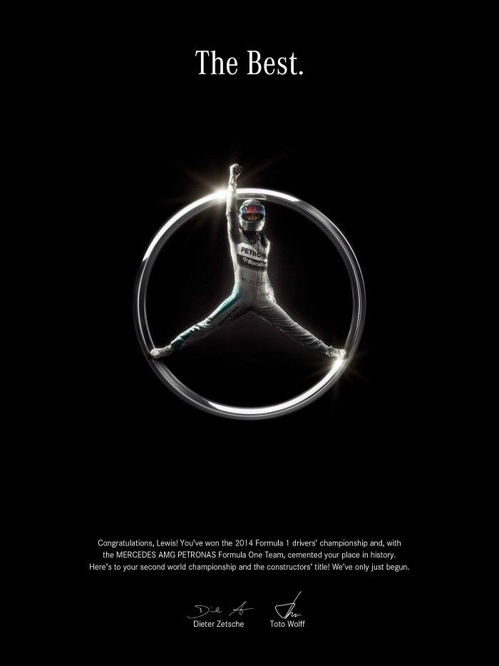 Mercedez-Benz - Lewis Hamilton The Best