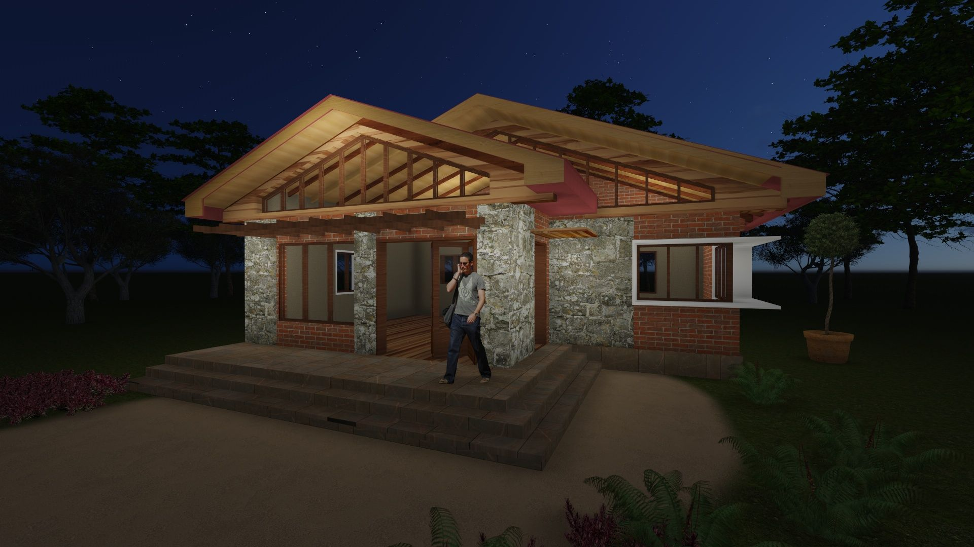 a small house in Nkozi, Uganda. Design by Faith Acam ...