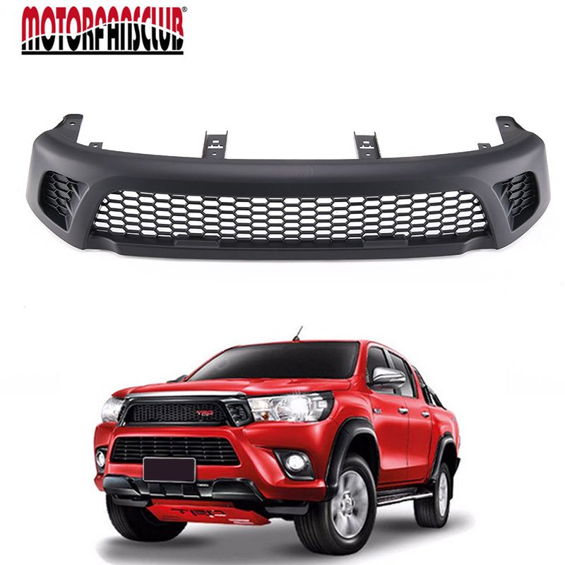 Cool Car Styling Front Black Mesh Grille Grill For Toyota Hilux