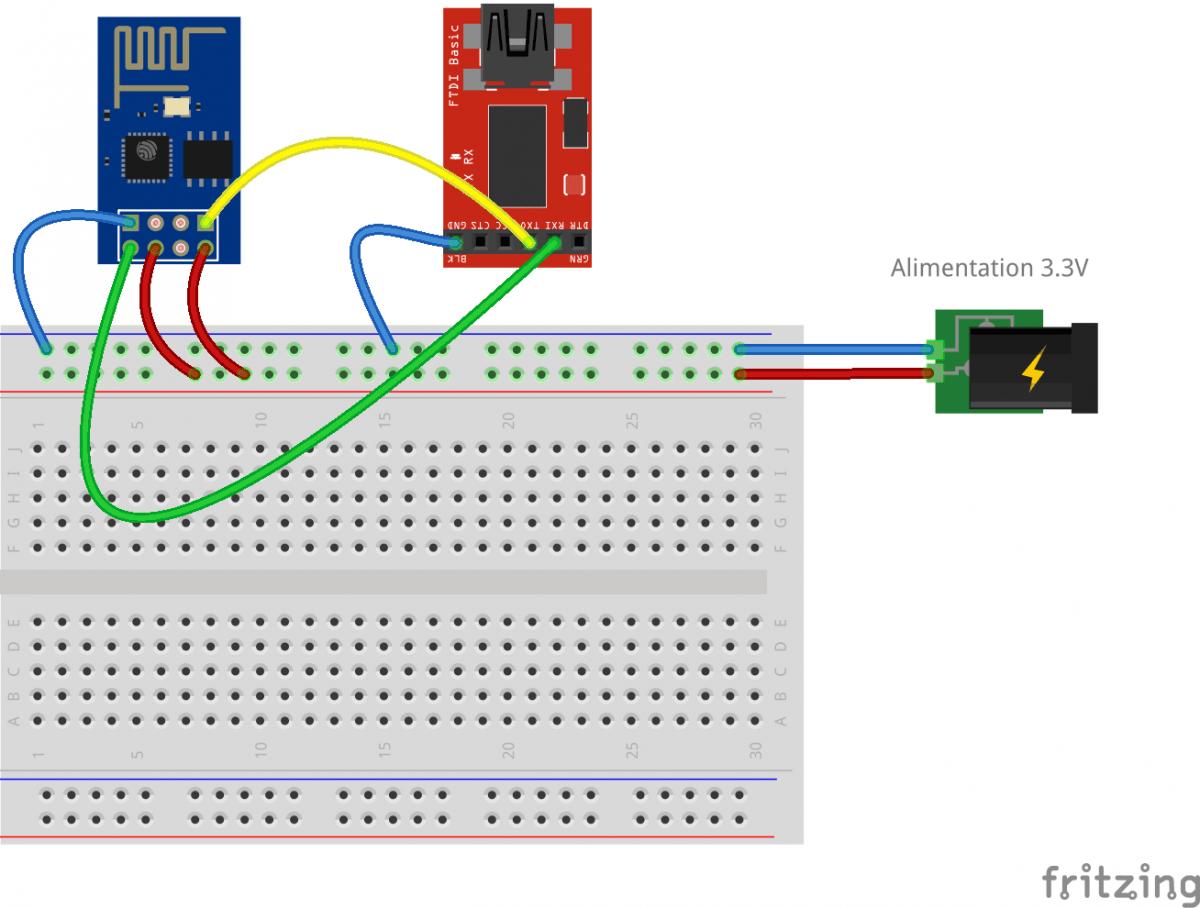 Premiere Introduction A L 39 Utilisation Du Module Esp8266 Module Wifi Pour Arduino Et Raspberry A Bas Cout Arduino Premiers Sons Electronique