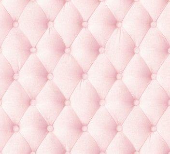 papier peint capitons lin rose poudre