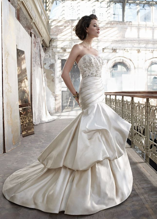 Lazaro Spring 2012 + My Dress of The Week - Belle the Magazine . The Wedding Blog For The Sophisticated Bride