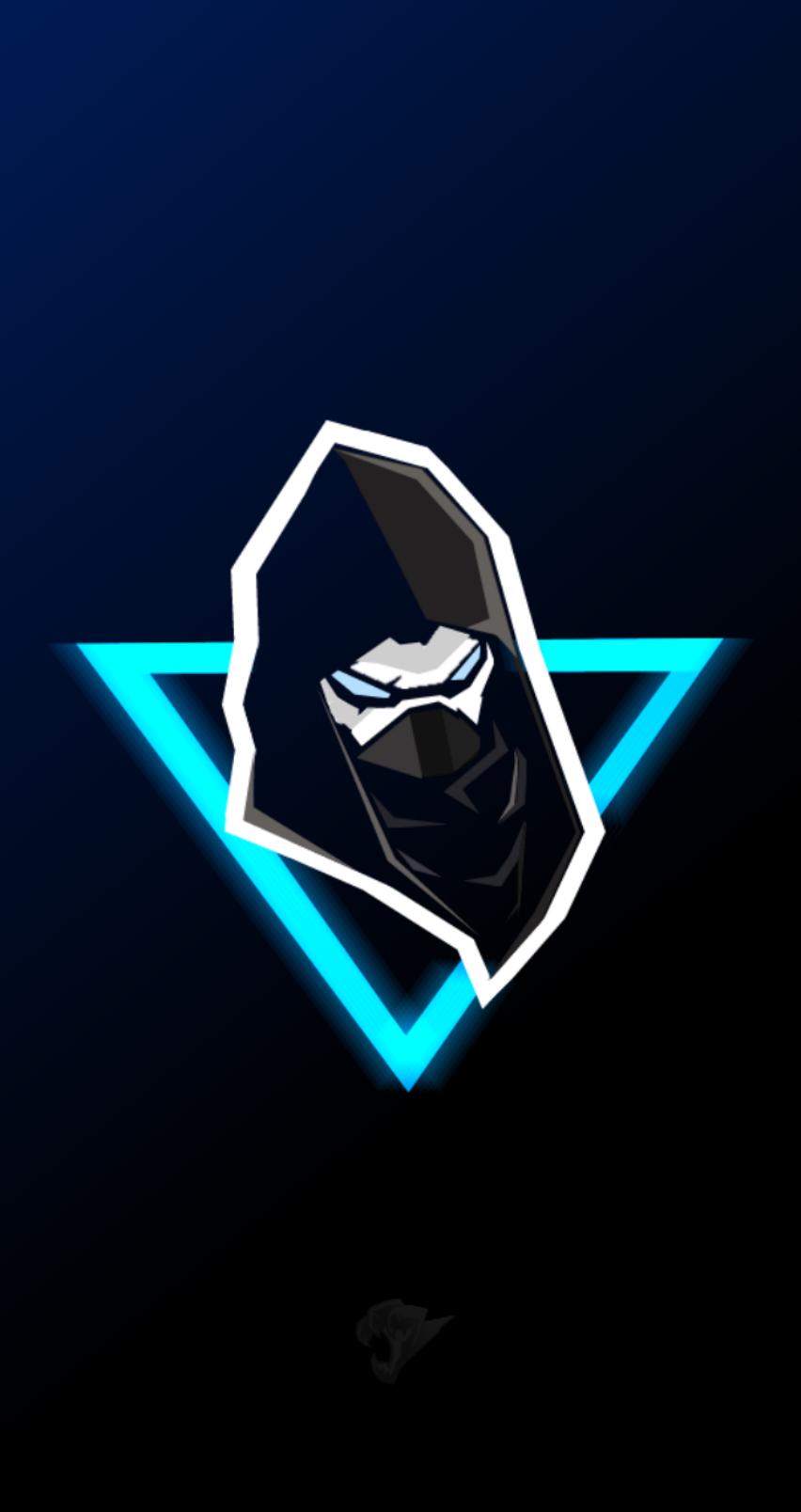 Enforcer mascot logo, wallpaper fortnite Fundos para