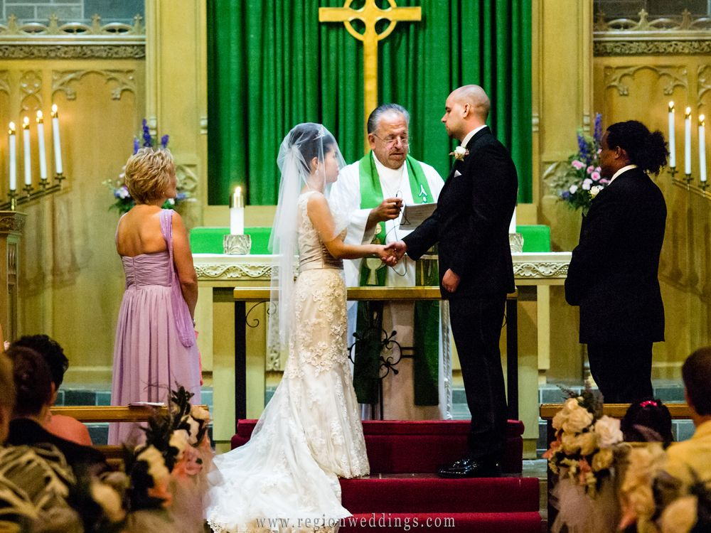Druid Hills Presbyterian Church Wedding Architecture Beautiful Ceremony Christian Photography Exchanging Vows Ashl