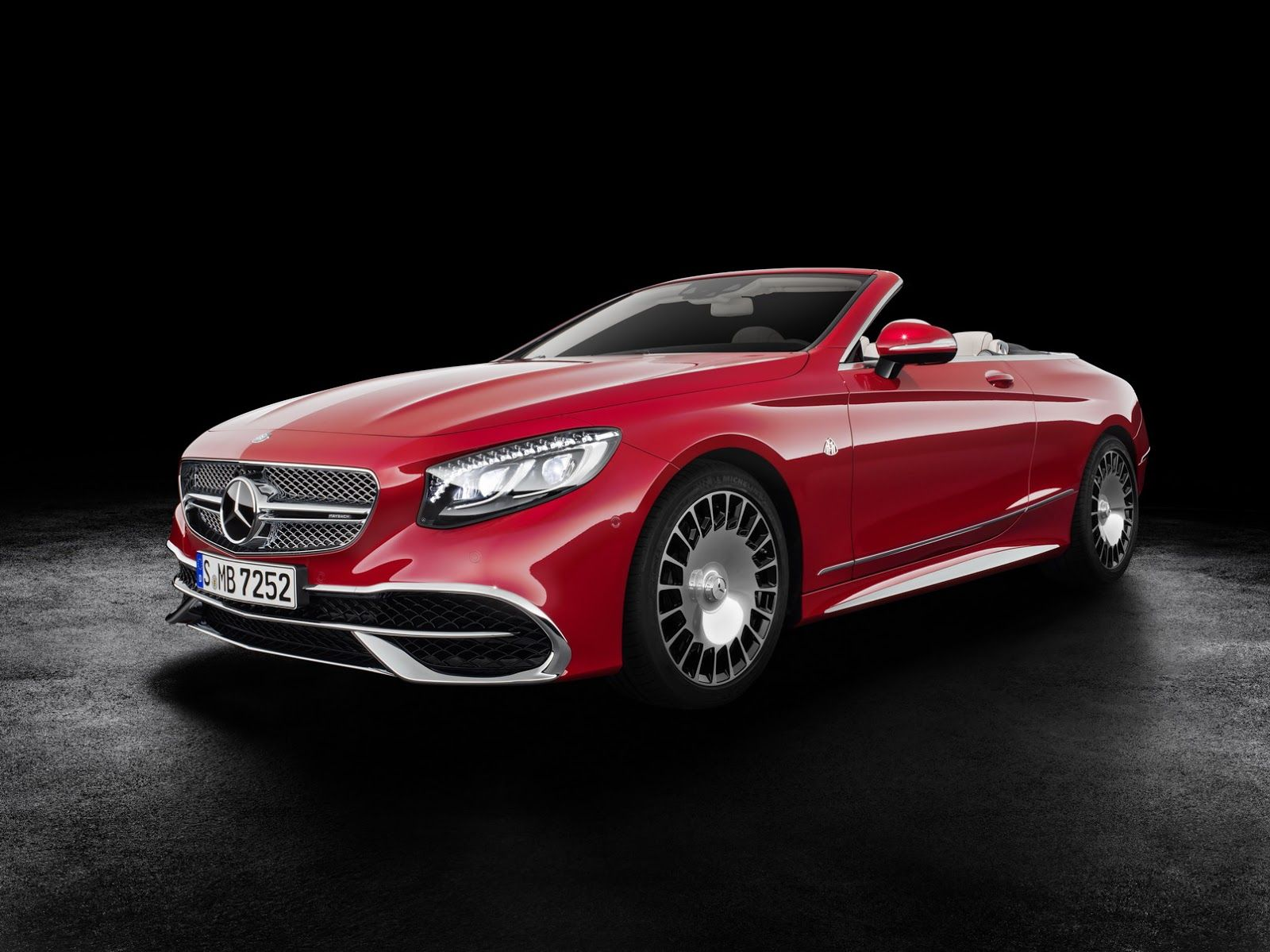 The Mercedes Maybach S650 Cabriolet Is The Ultimate Toy With