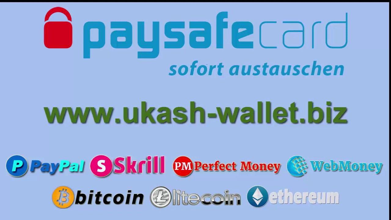 Tauschen Sie Paysafecard Sofort Gegen Paypal Skrill Perfect Money Web Kryptowahrung Wechselkurs Tauschen