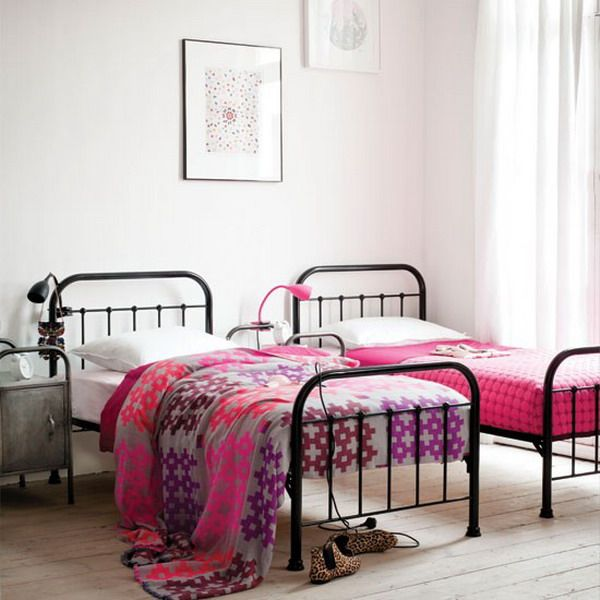Double Bed Teen Interior Design Ideas | Home Interior Design | kids ...