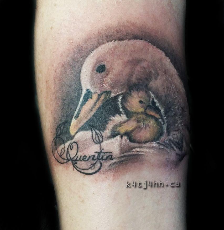 Baby Duck Mom