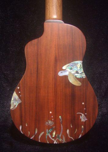 bruce wei solid brazilian walnut soprano long neck ukulele mop inlay ui13 125 just like it. Black Bedroom Furniture Sets. Home Design Ideas