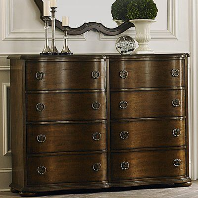 Darby Home Co Elwood 8 Drawer Double Dresser With Images Double Dresser Dresser Liberty Furniture