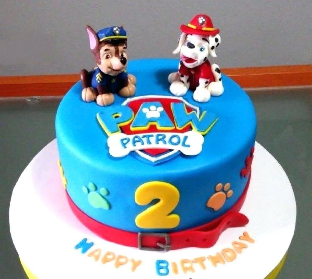 32 inspiration photo of paw patrol birthday cake ideas