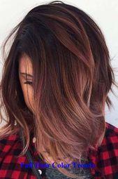 Super Haarfarbe einzigartige dunkle Farbe 48 Ideen,  #dunkle #Einzigartige #Farbe #Haarfarbe ...