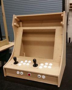Peachy Plans For Building A Bartop Arcade System Using A Raspberry Download Free Architecture Designs Lukepmadebymaigaardcom