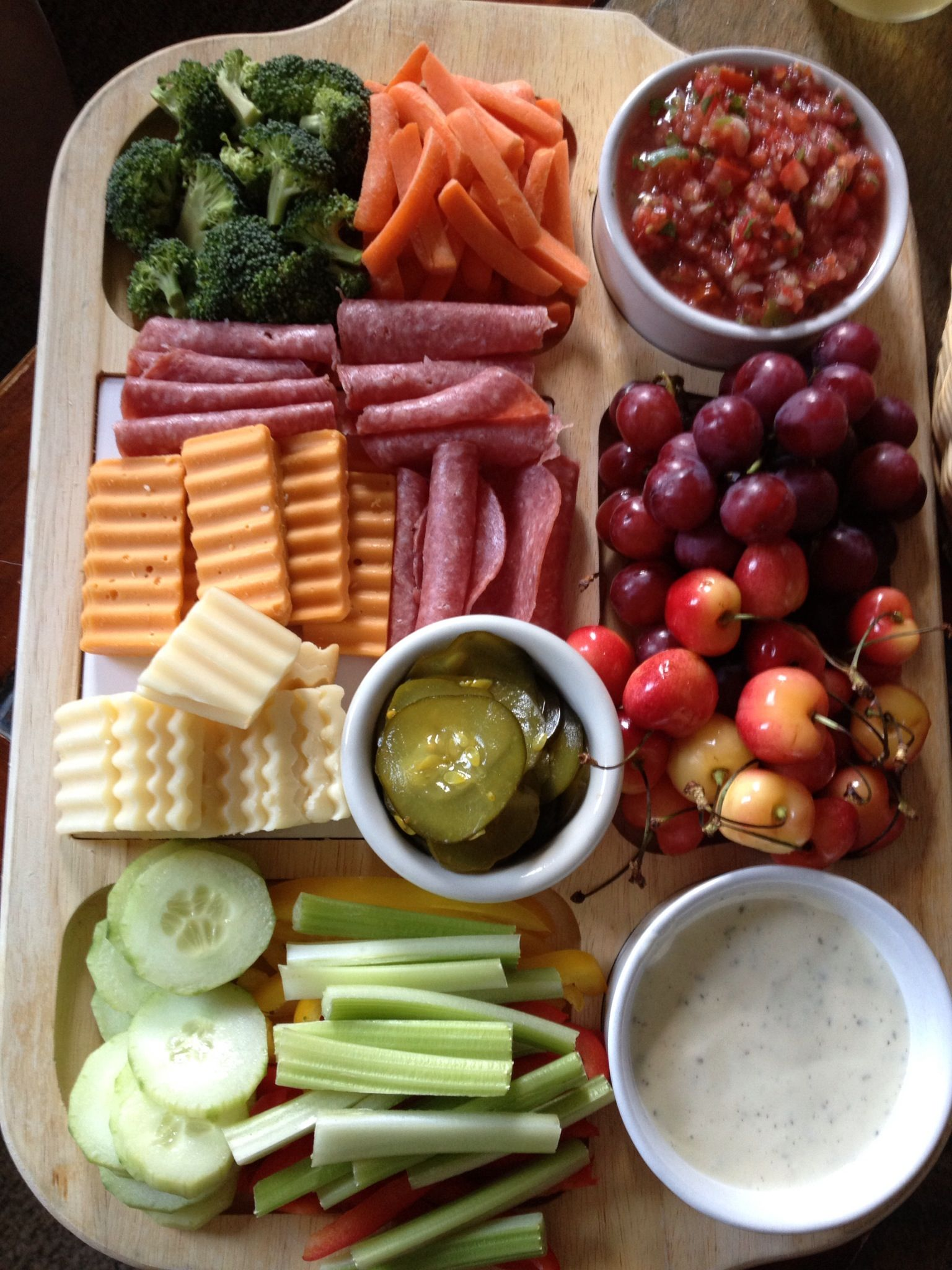 At home movie snacks with a glass of wine ) Healthy