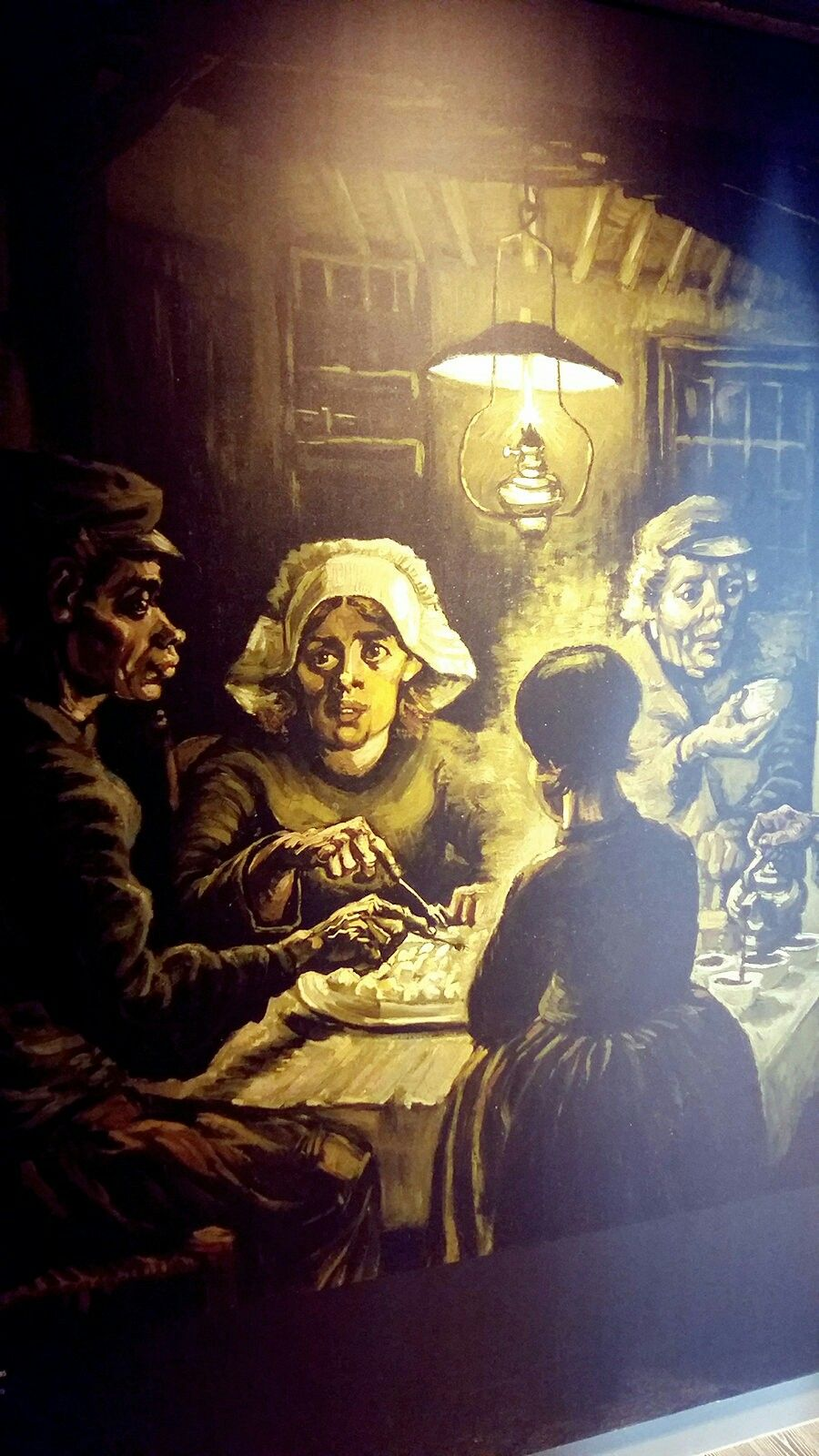 Les Mangeurs De Pommes De Terre : mangeurs, pommes, terre, Philips, Museum, Peintures, Gogh,, Mangeurs, Pommes, Terre