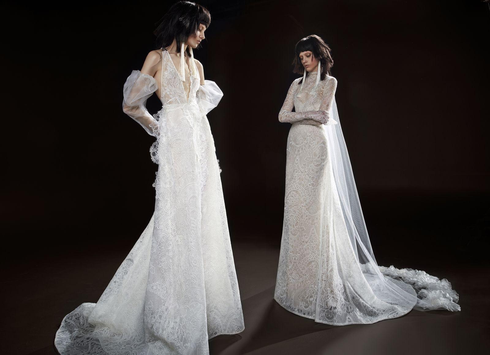 Exclusive introducing vera wang bride spring wedding night