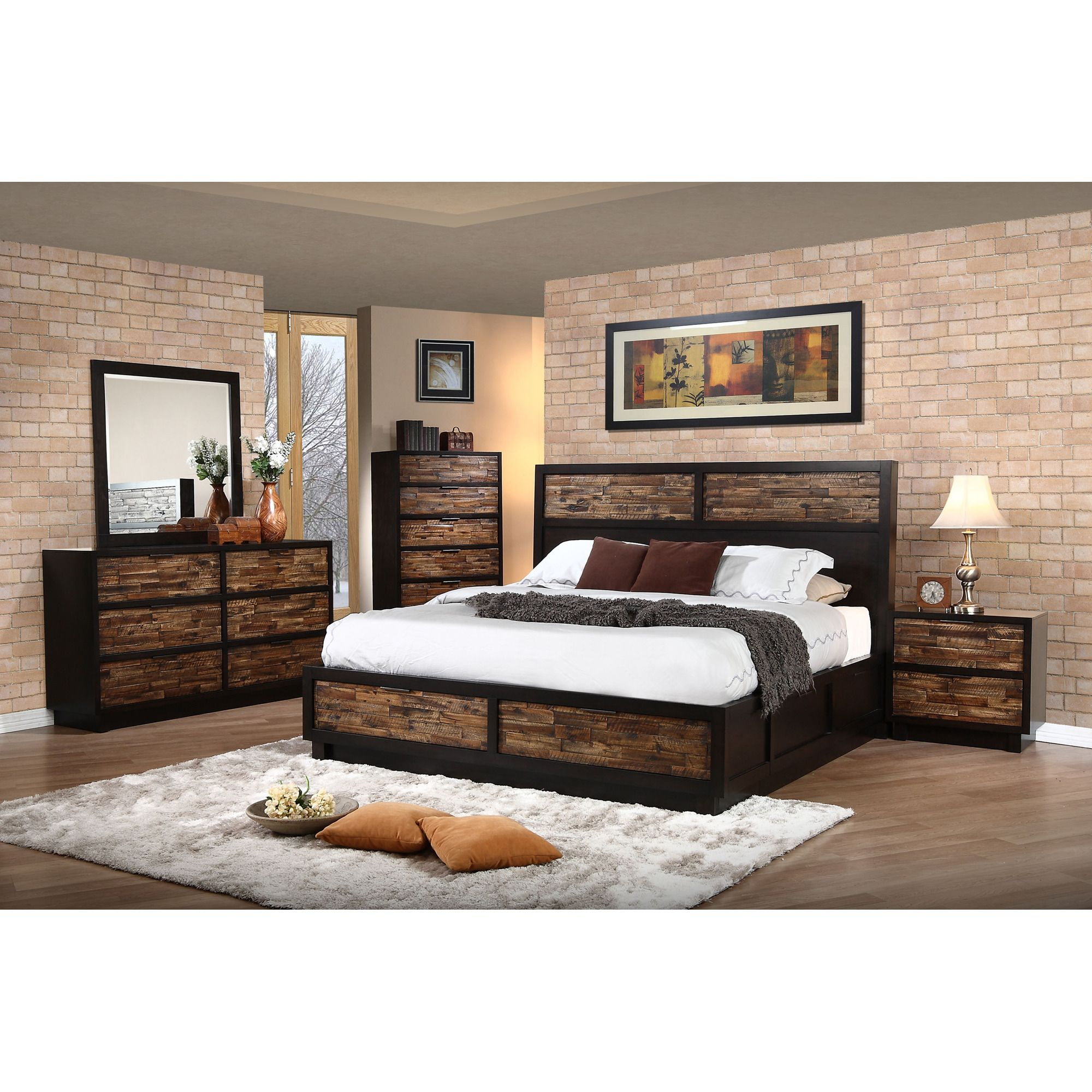 Makeeda Queen Storage Bed In Brown By New Classic Home Gallery Stores New Classic Furniture Bed Nebraska Furniture Mart