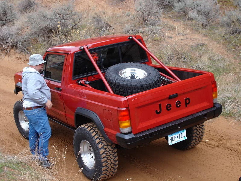 Jeep Comanche Mods Full Of Custom Tricks Https Www Mobmasker Com Jeep Comanche Mods Full Of Custom Tricks Jeep Gear Jeep Offroad Jeep