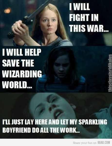Eowin/ Hermione/ Bella | Funny xD | Harry Potter, Lustig und Dumm