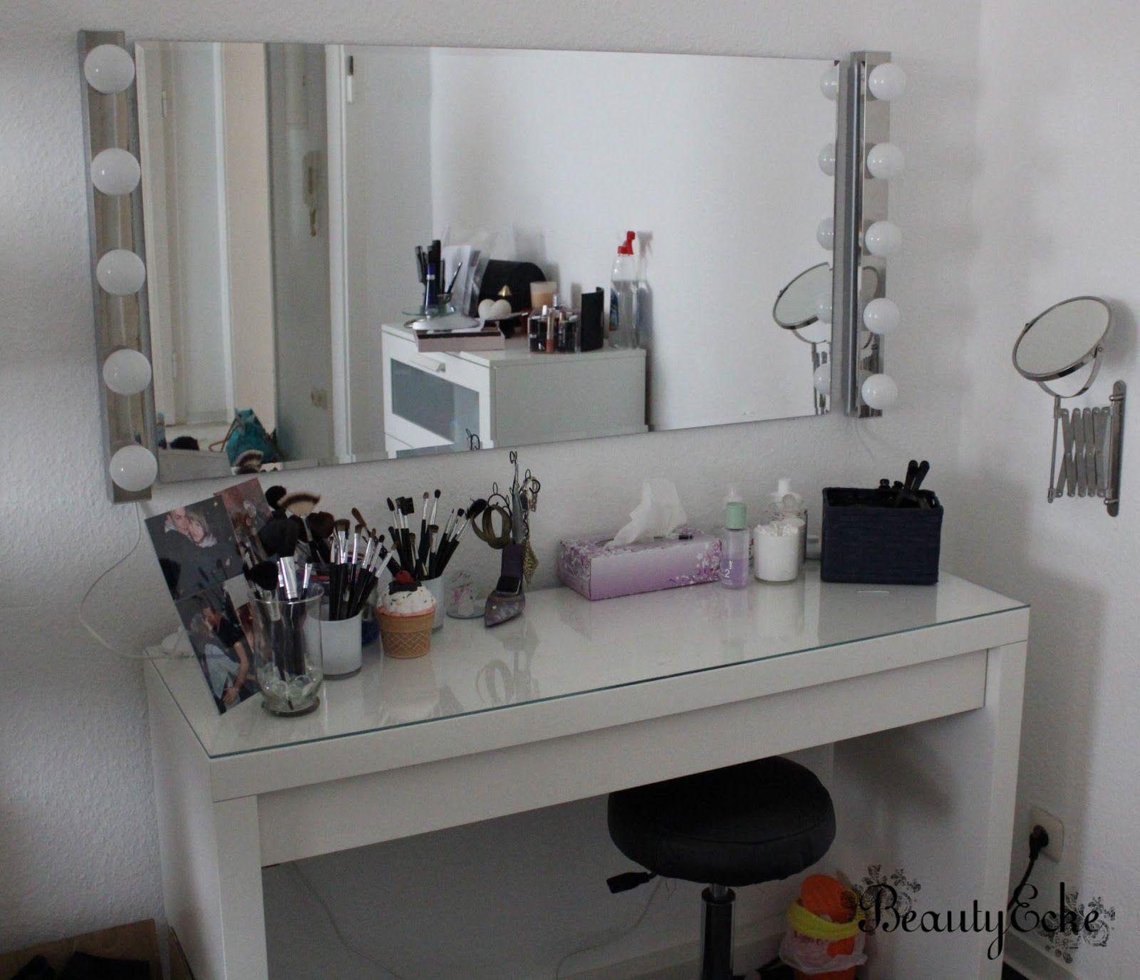 BeautyEcke: Mein Hollywood Schminktisch! | Living room