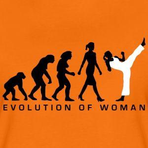 evolution_female_martial_art_112014_b_2c T Shirts Frauen