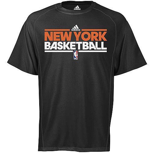 adidas New York Knicks ClimaLite T Shirt