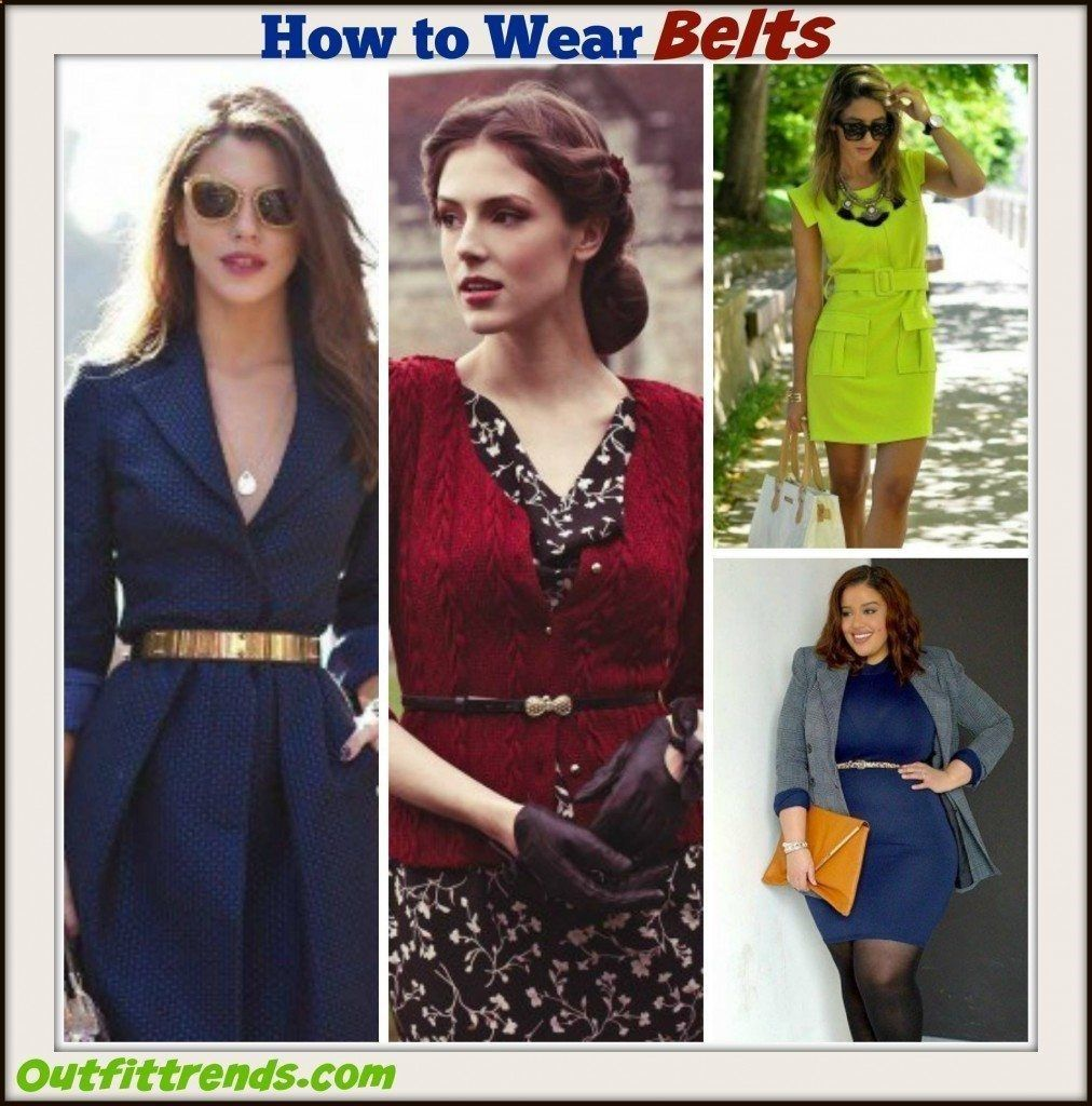 How to Wear Waist Belt18 Perfect Outfit Ideas with Waist Belt