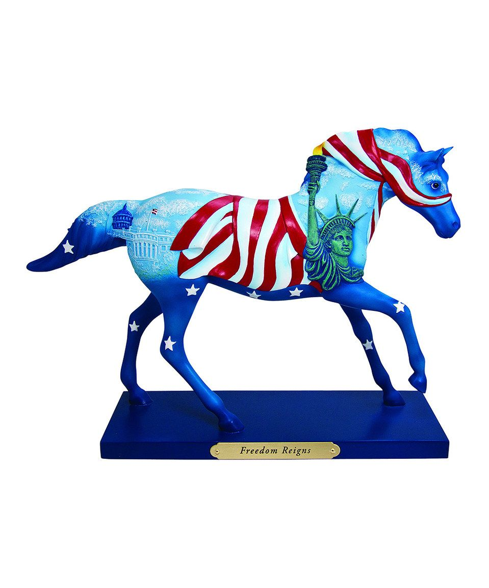 Look what I found on #zulily! The Trail of Painted Ponies Freedom Reigns Figurine by The Trail of Painted Ponies #zulilyfinds