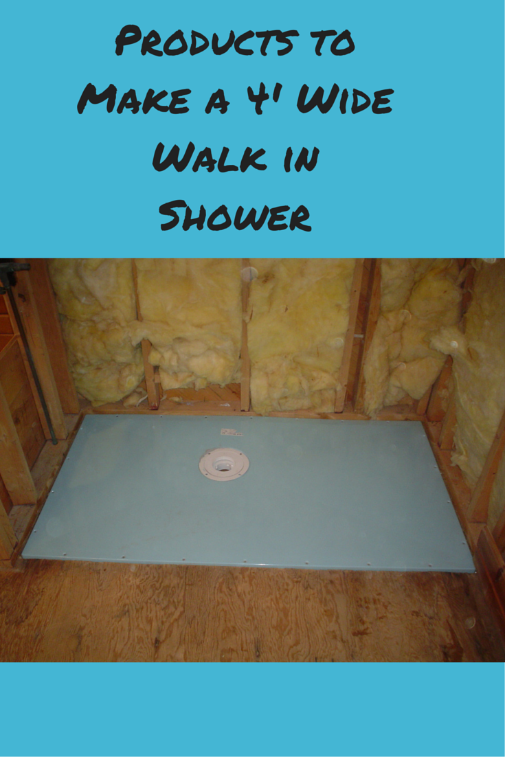 How To Make A 4 Wide Walk In Shower Bathroom Wet Room