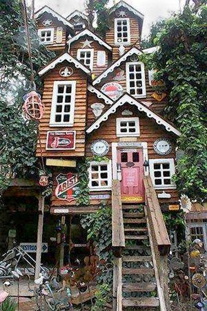 Itu0027s worth stopping along California 99 Casas, Casa del arbol y - casas en arboles