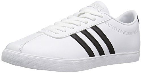 Adidas neo  mujer courtset W Fashion zapatilla whiteblackmatte plata